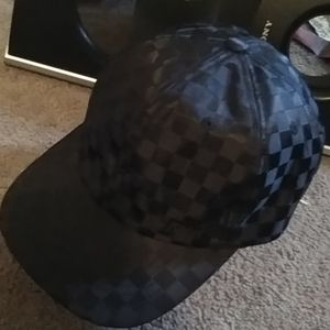 Vans checkered snapback hat
